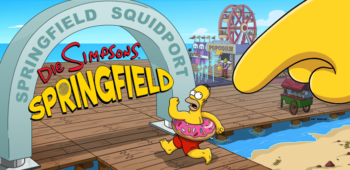 4. Juli-Update für Die Simpsons: Springfield / Tapped Out