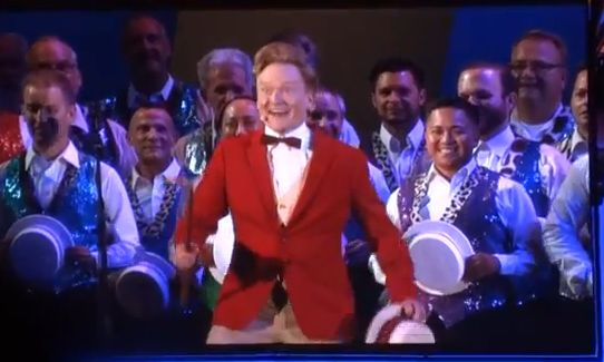 Conan O'Brien in Hollywood Bowl Show