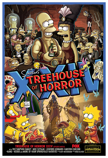 US-Premiere: Treehouse of Horror XXIV
