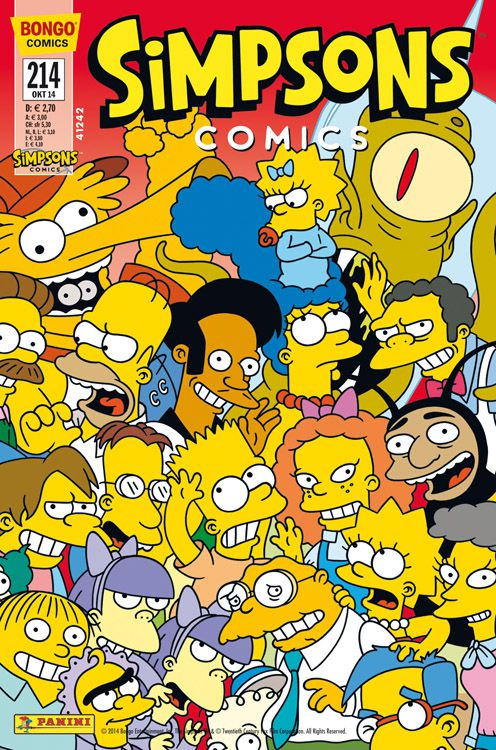 Neu im Handel: Simpsons Comic Nr. 214