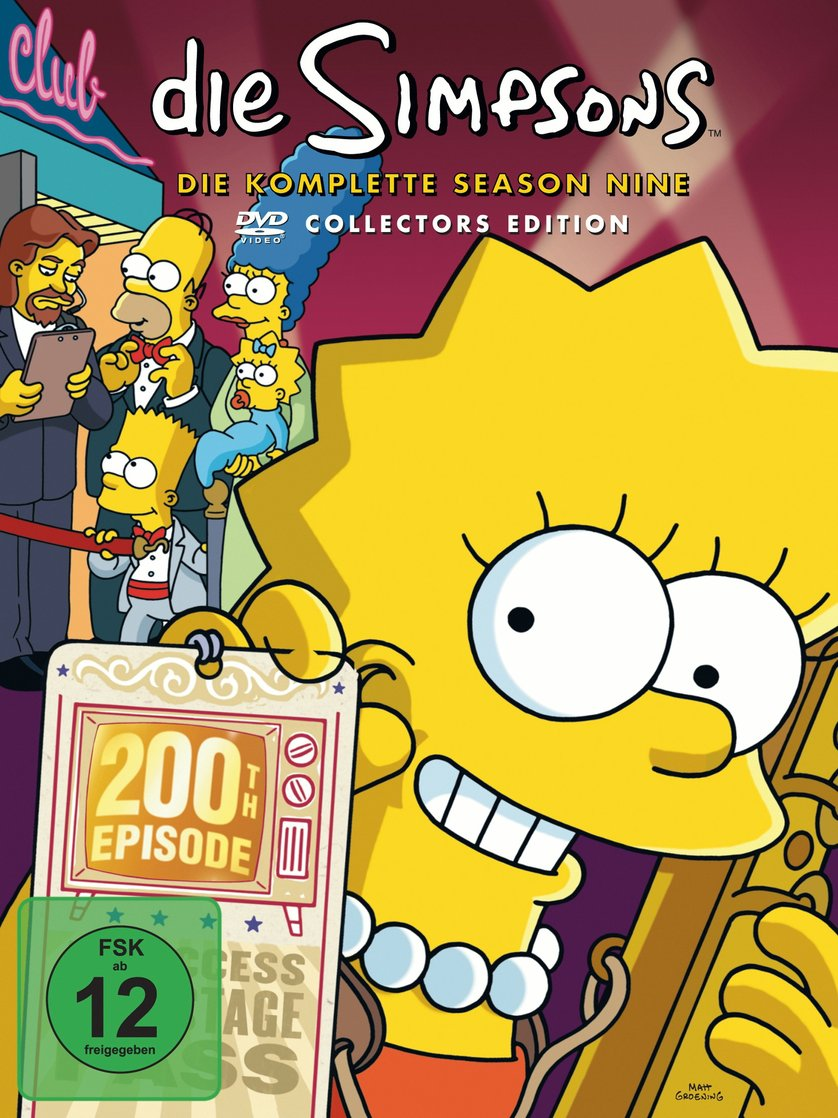 Simpsons Staffel 9 Collection