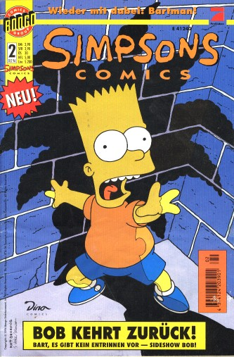 Simpsons Comic Nr. 2