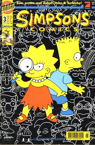 Simpsons Comic Nr. 3