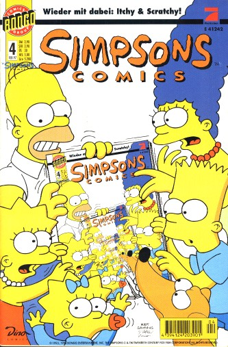 Simpsons Comic Nr. 4