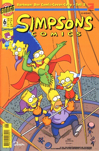 Simpsons Comic Nr. 6