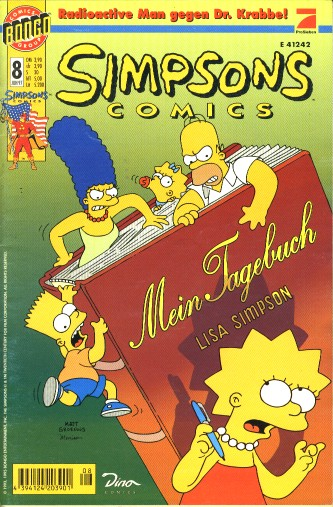 Simpsons Comic Nr. 8