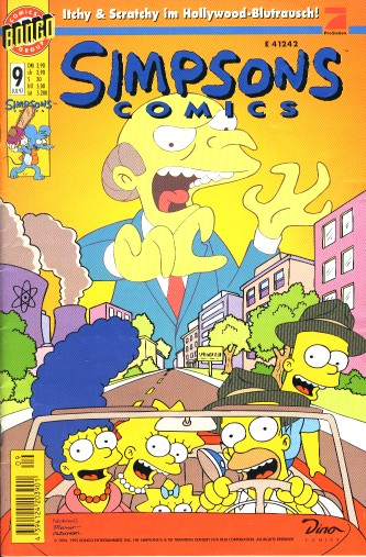 Simpsons Comic Nr. 9