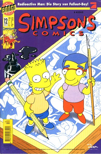 Simpsons Comic Nr. 12