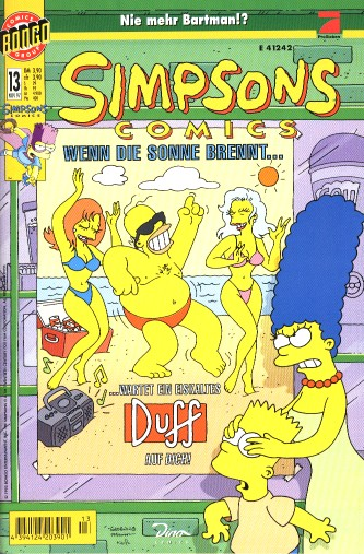 Simpsons Comic Nr. 13