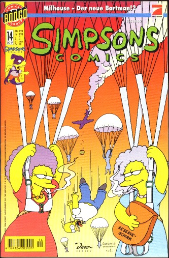Simpsons Comic Nr. 14