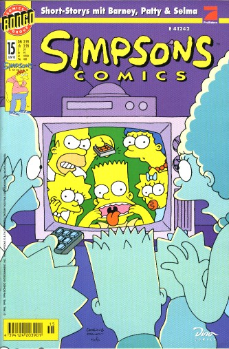 Simpsons Comic Nr. 15