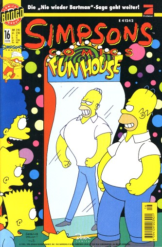 Simpsons Comic Nr. 16