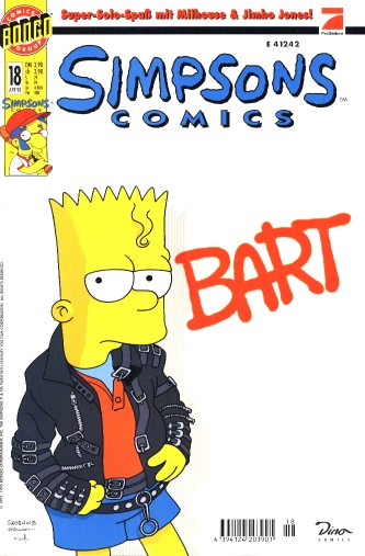 Simpsons Comic Nr. 18