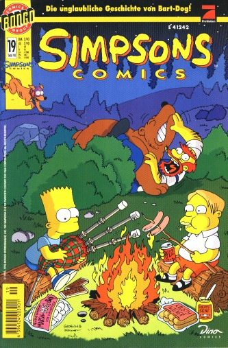 Simpsons Comic Nr. 19