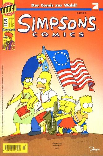 Simpsons Comic Nr. 23