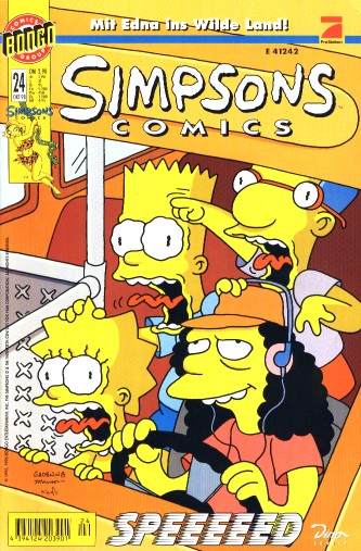 Simpsons Comic Nr. 24