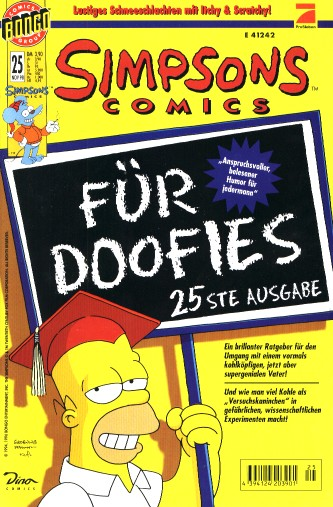 Simpsons Comic Nr. 25