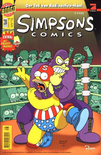 Simpsons Comic Nr. 28