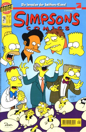 Simpsons Comic Nr. 29