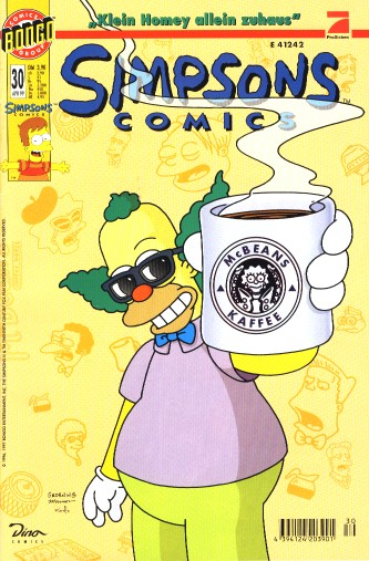 Simpsons Comic Nr. 30