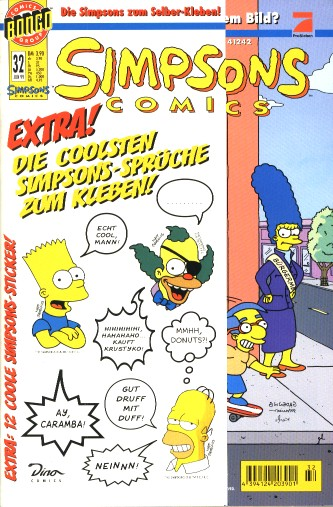 Simpsons Comic Nr. 32