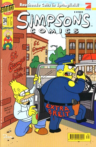 Simpsons Comic Nr. 34