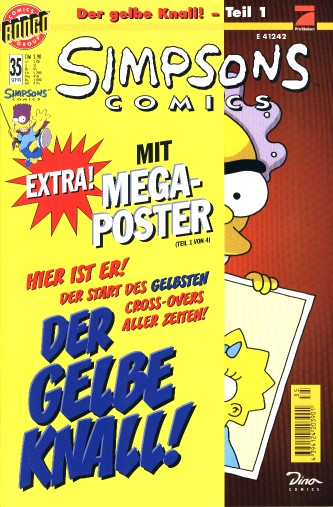 Simpsons Comic Nr. 35
