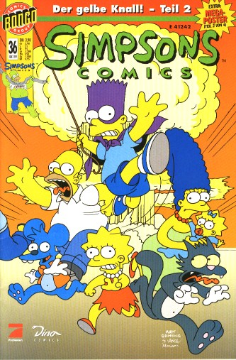 Simpsons Comic Nr. 36