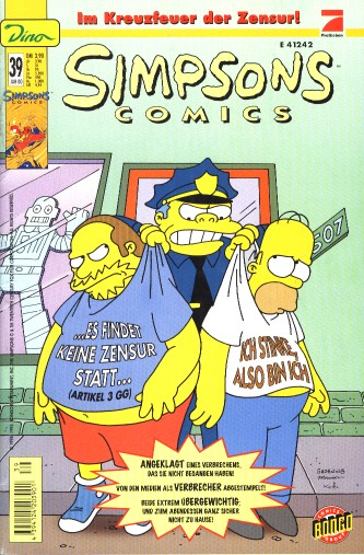 Simpsons Comic Nr. 39