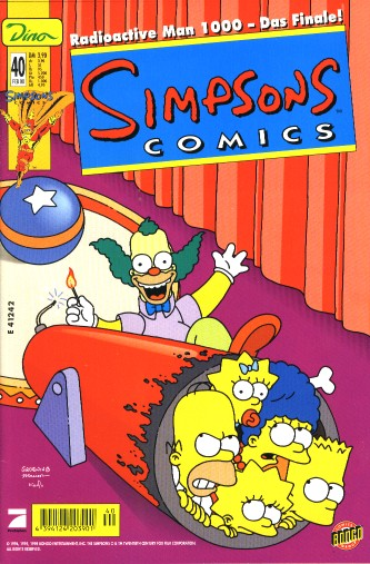 Simpsons Comic Nr. 40
