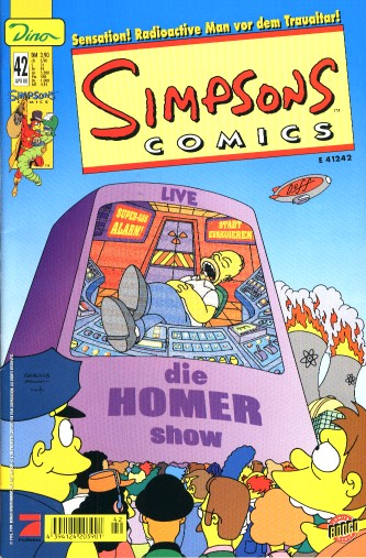 Simpsons Comic Nr. 42