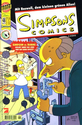 Simpsons Comic Nr. 48