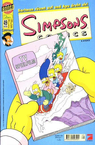 Simpsons Comic Nr. 49