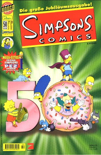 Simpsons Comic Nr. 50