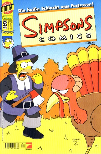 Simpsons Comic Nr. 53