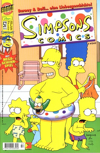 Simpsons Comic Nr. 57