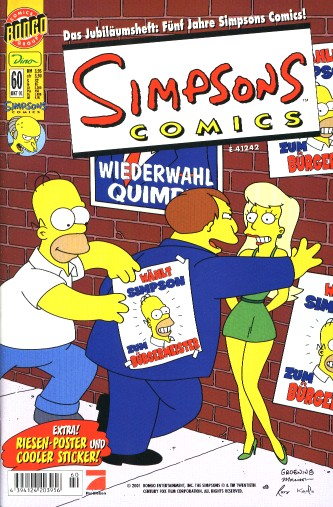 Simpsons Comic Nr. 60