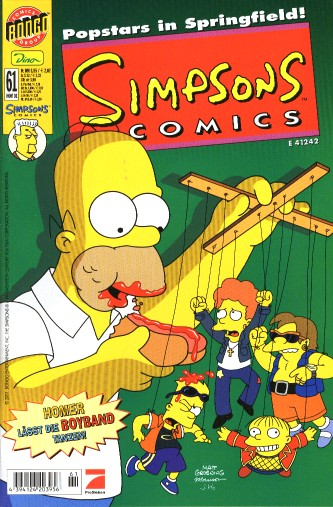 Simpsons Comic Nr. 61