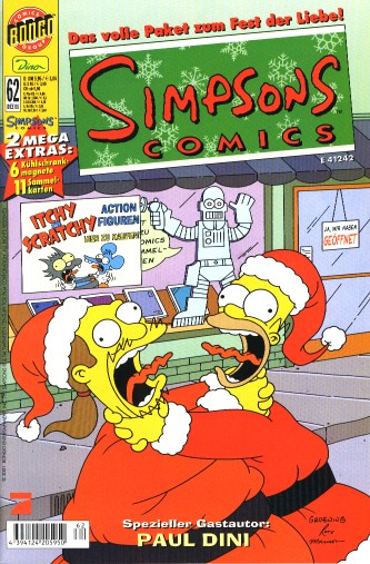 Simpsons Comic Nr. 62