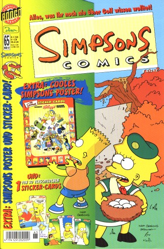 Simpsons Comic Nr. 65
