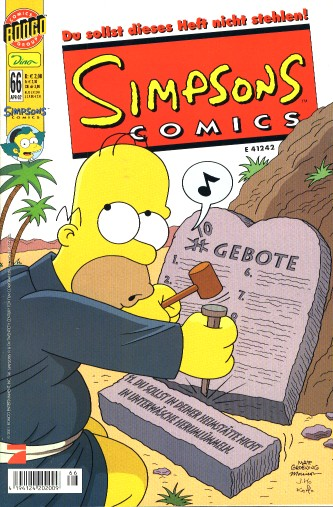 Simpsons Comic Nr. 66