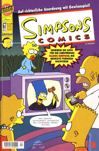 Simpsons Comic Nr. 67