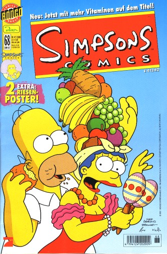 Simpsons Comic Nr. 68