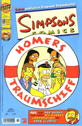 Simpsons Comic Nr. 69