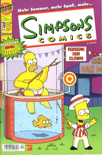 Simpsons Comic Nr. 70