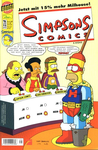 Simpsons Comic Nr. 71