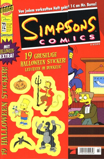 Simpsons Comic Nr. 72