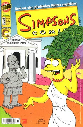 Simpsons Comic Nr. 73