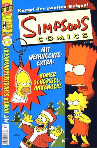 Simpsons Comic Nr. 74