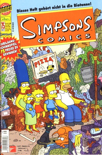 Simpsons Comic Nr. 75